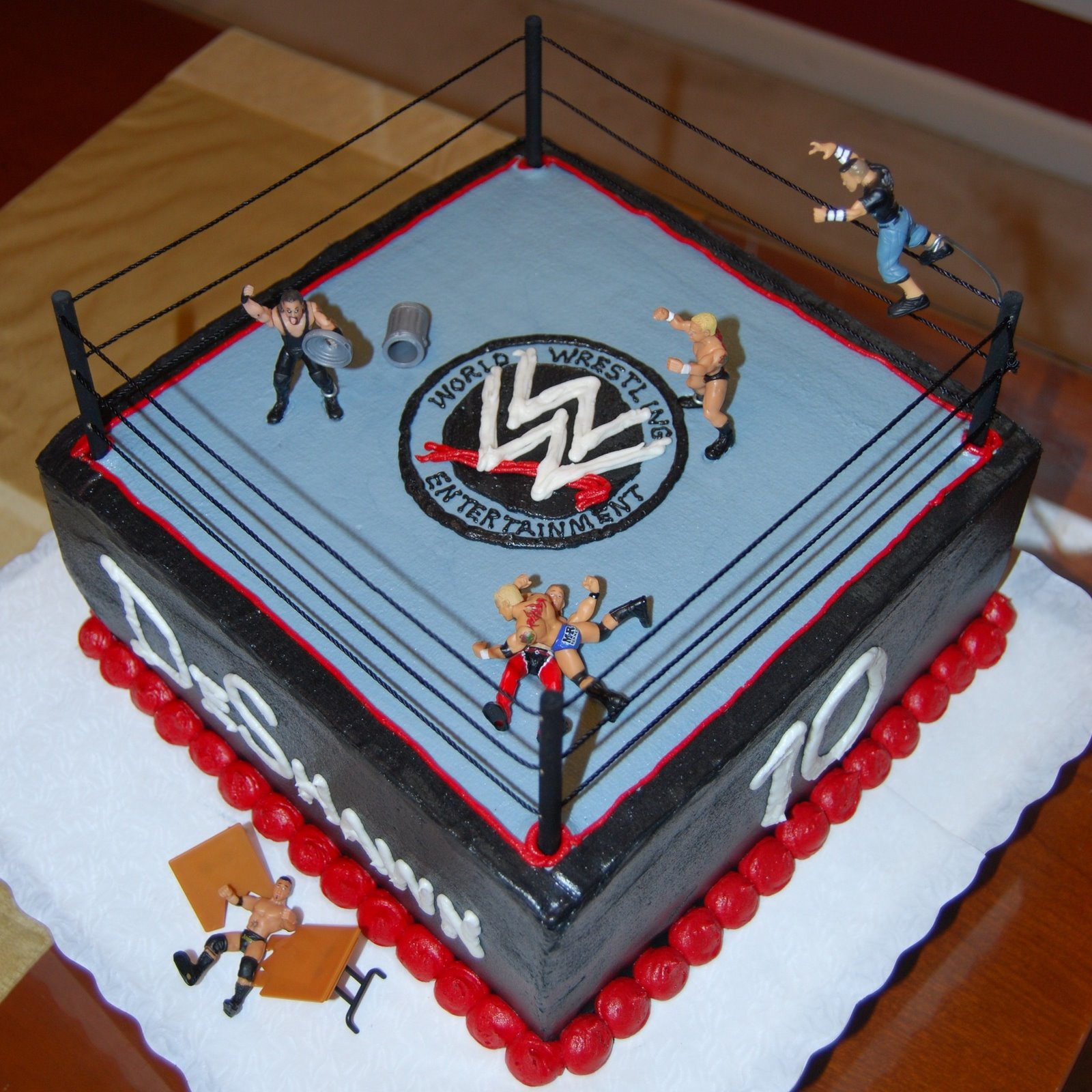 WWE Cakes Decoration Ideas Little Birthday