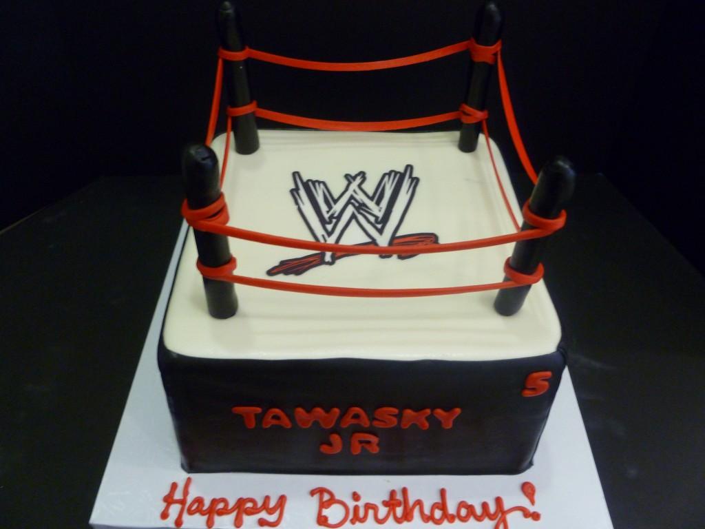 Wwe Cakes Decoration Ideas Little Birthday Cakes