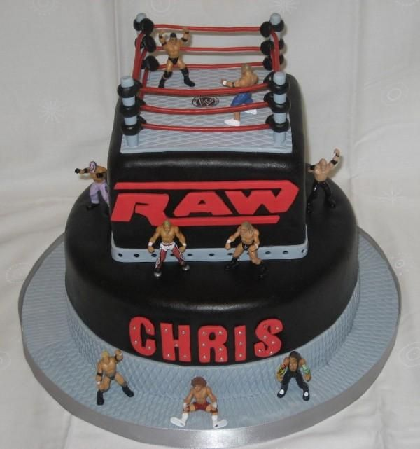 Wrestling Belt Cake Ideas