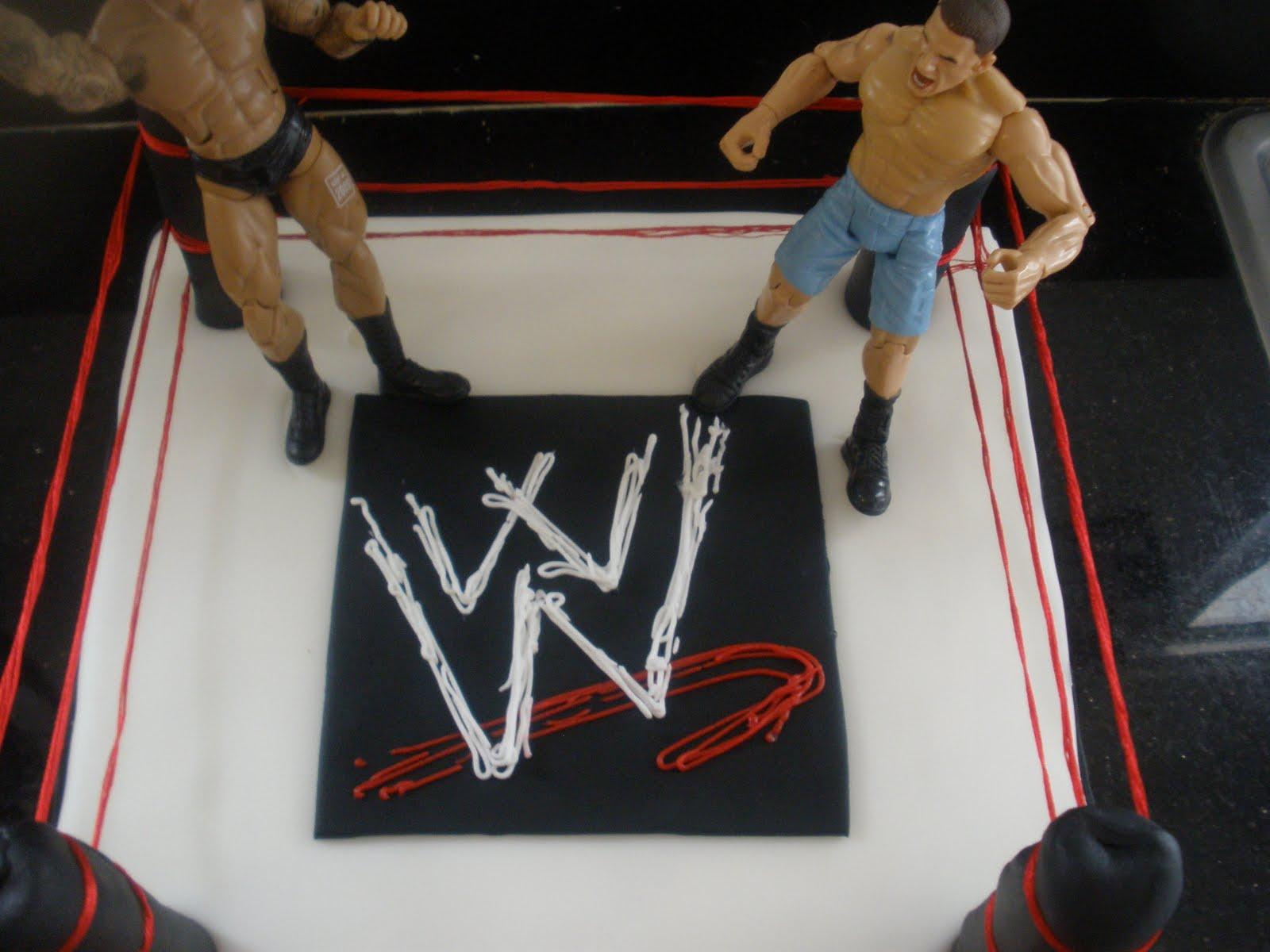 Wwe Wrestling Birthday Cake Topper
