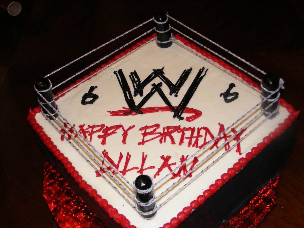 Raw Wrestling Ring Cake Ideas And Designs