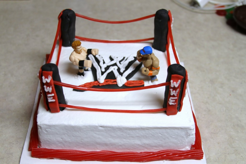 Wwe Cakes Decoration Ideas Little Birthday Cakes
