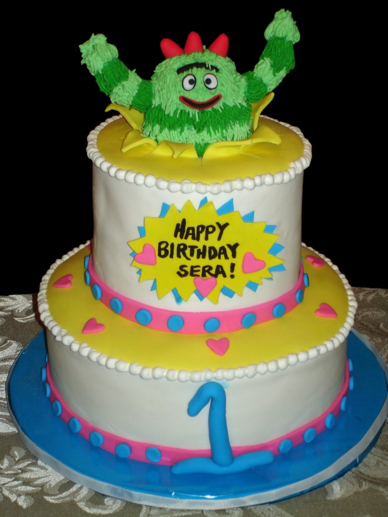 Yo Gabba Gabba Cakes – Decoration Ideas | Little Birthday ...