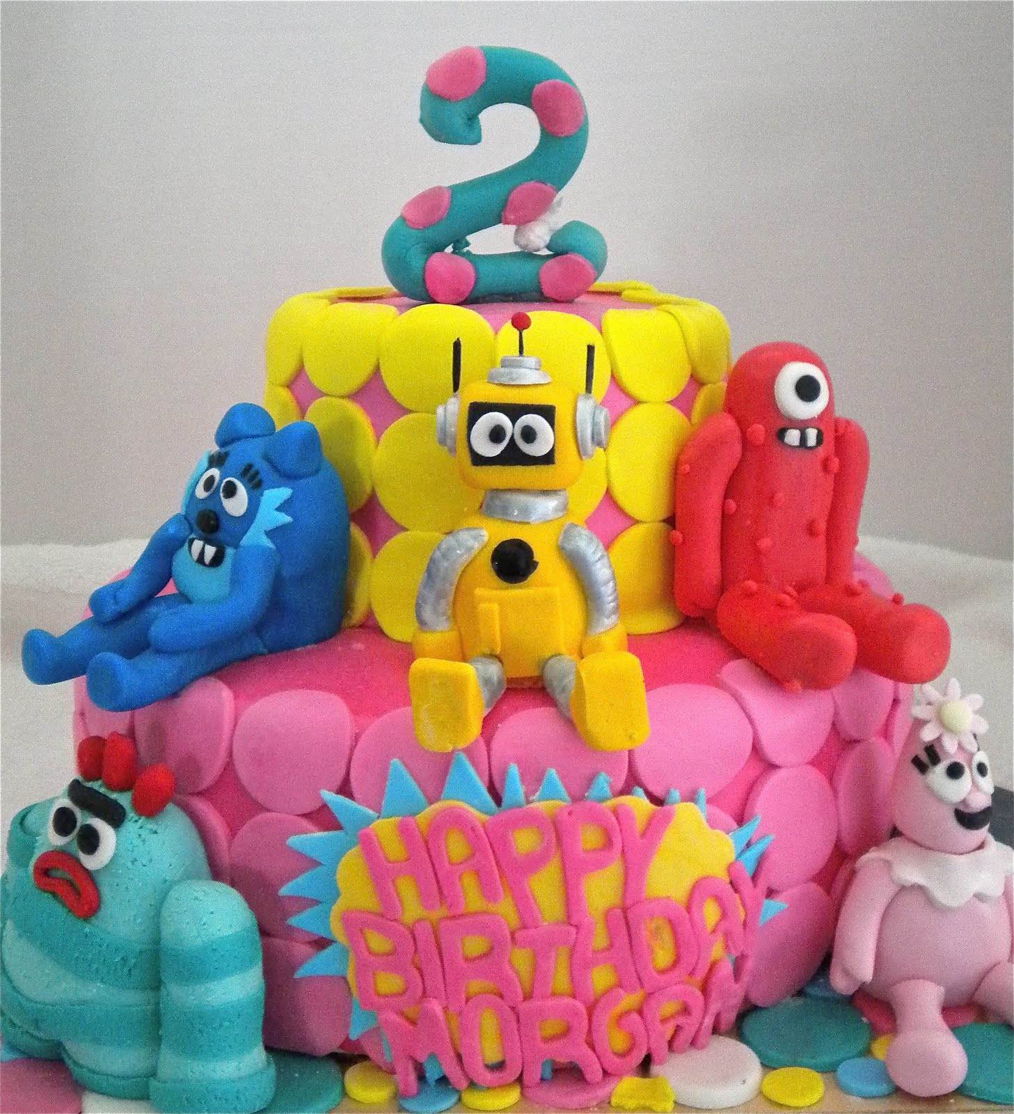 Yo Gabba Gabba Birthday Cake Ideas