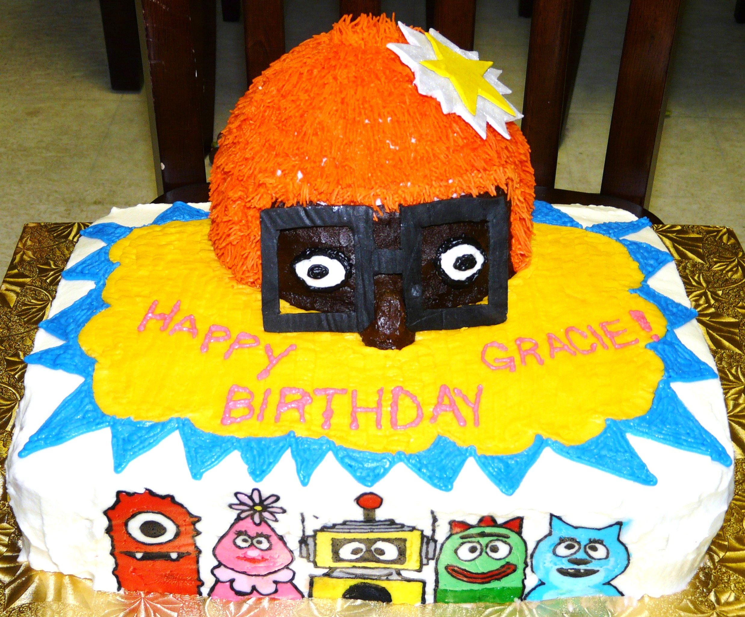 Yo Gabba Gabba Cakes Decoration Ideas Little Birthday