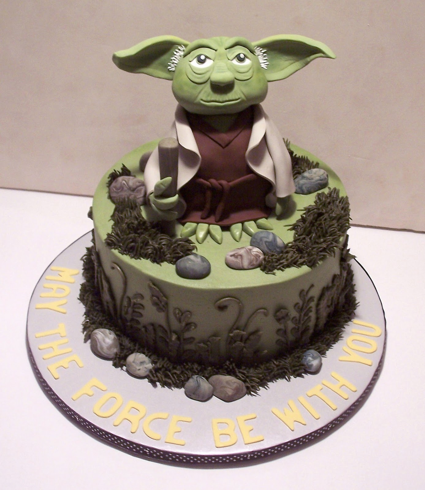 Yoda Cakes – Decoration Ideas