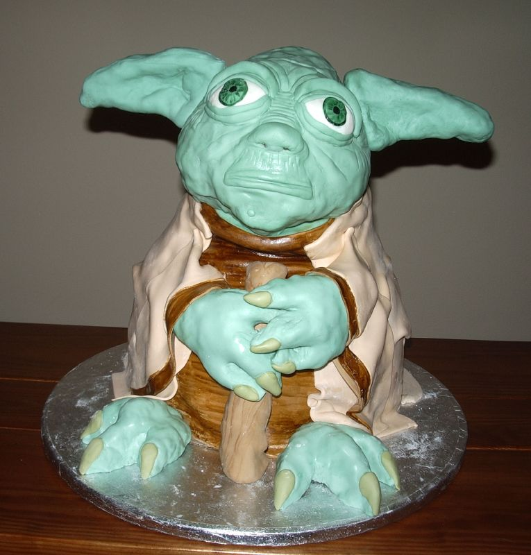 Yoda Cakes – Decoration Ideas