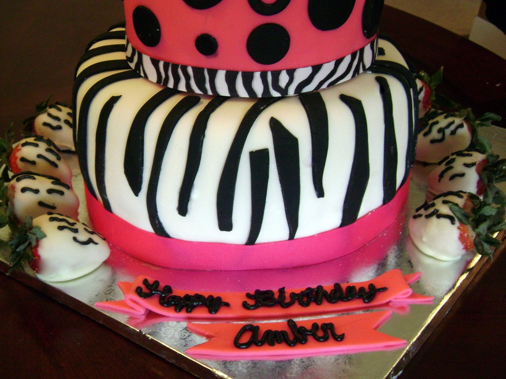 Zebra Design Birthday Cake : Zebra Cakes   Decoration Ideas Little Birthday Cakes