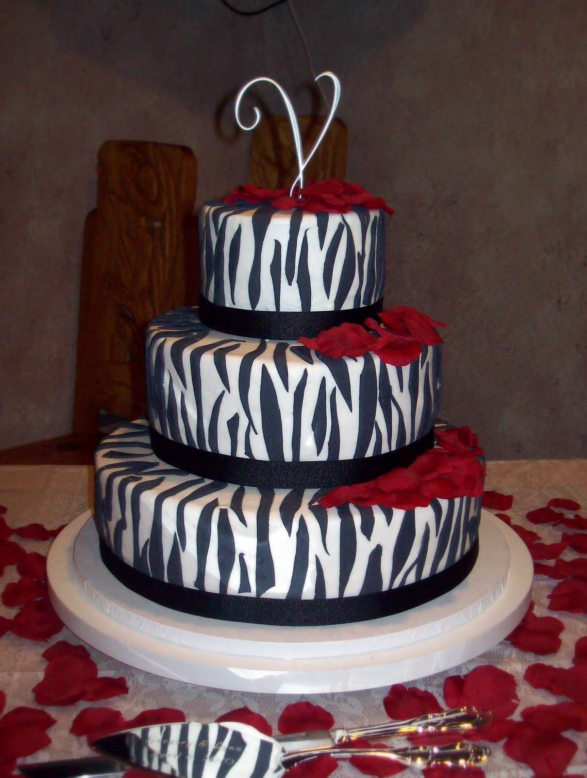 Cake With Zebra Design : cakes zebra print birthday cakes animal print cakes ...