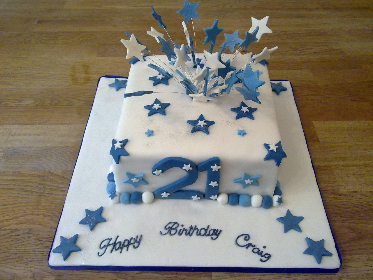 21 birthday cake ideas