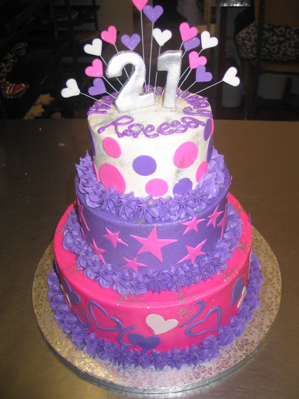 Decoration Of Birthday Cake : 21st Birthday Cakes   Decoration Ideas Little Birthday Cakes