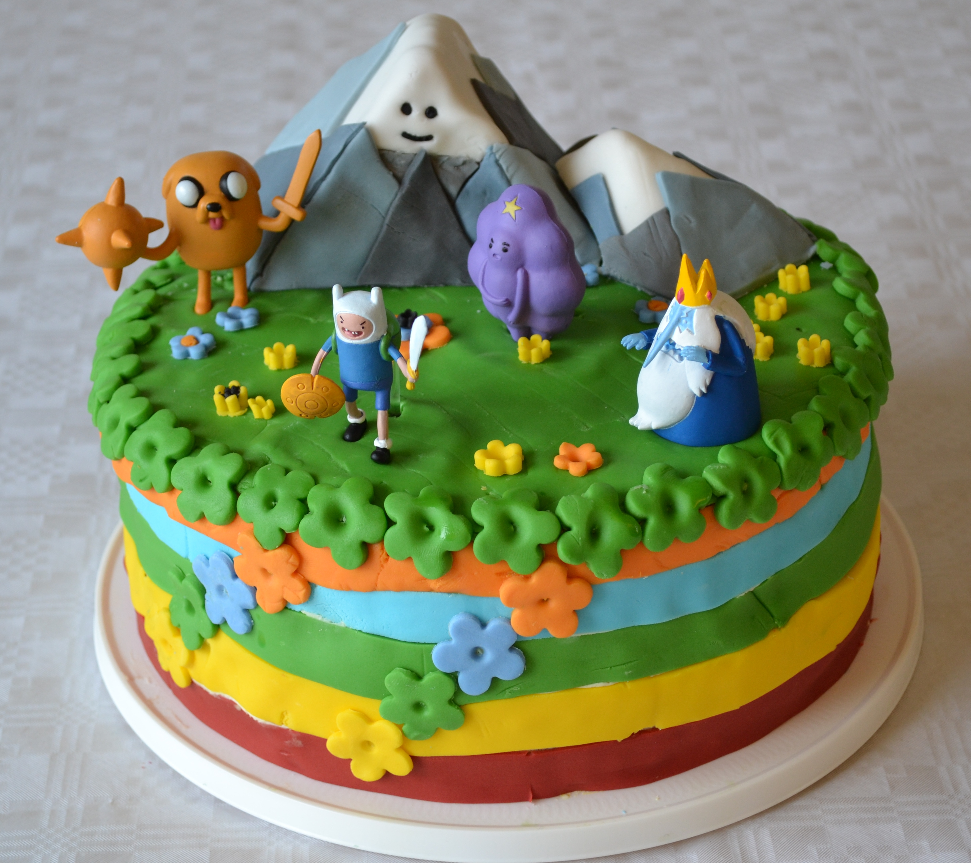 Adventure Time Cakes – Decoration Ideas | Little Birthday Cakes