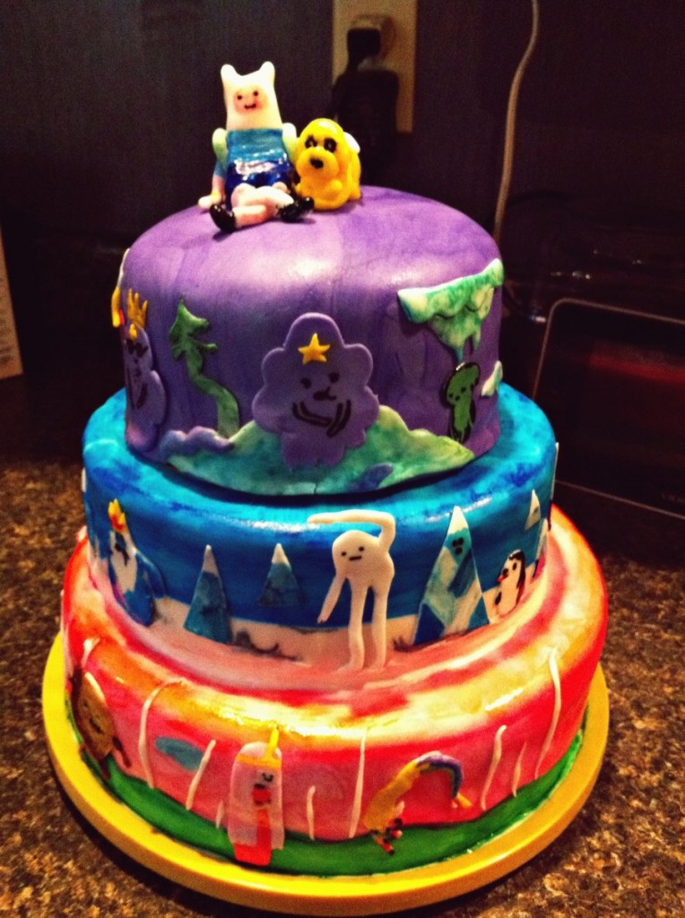 Adventure Time Cakes Decoration Ideas Little Birthday