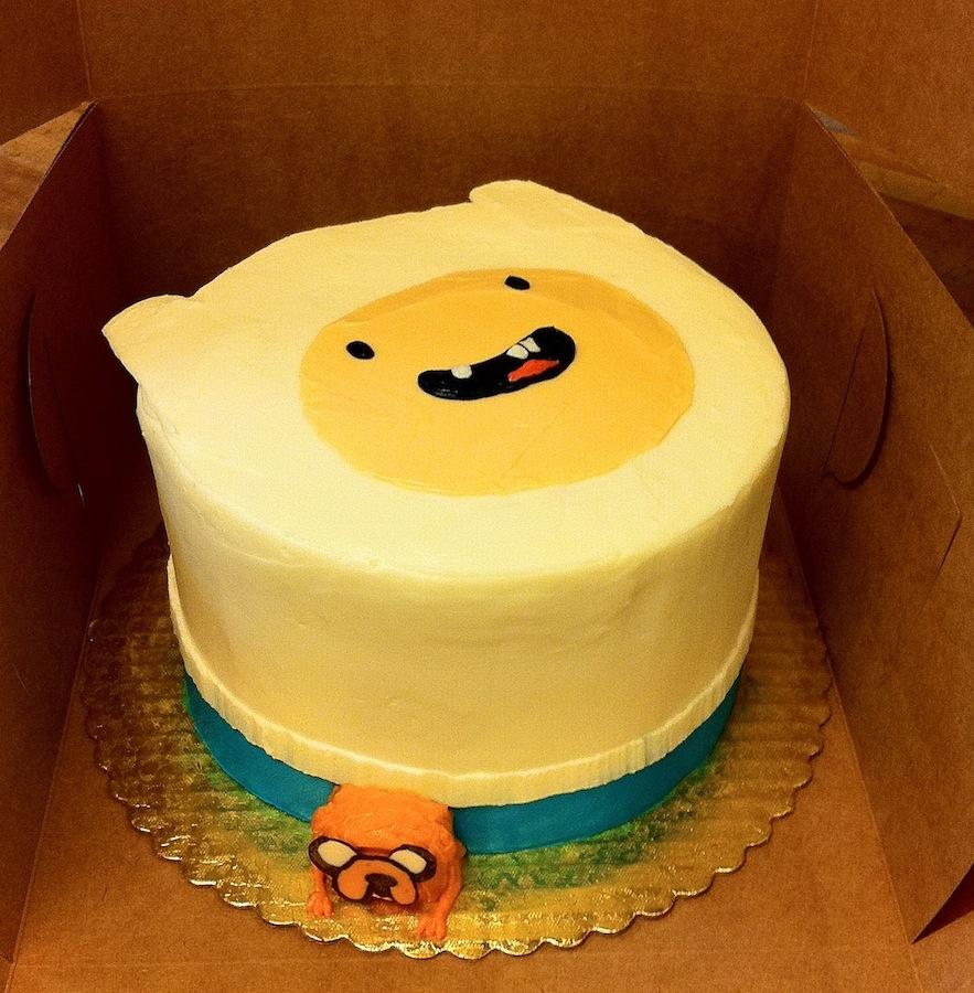 Adventure Time Finn Cakes