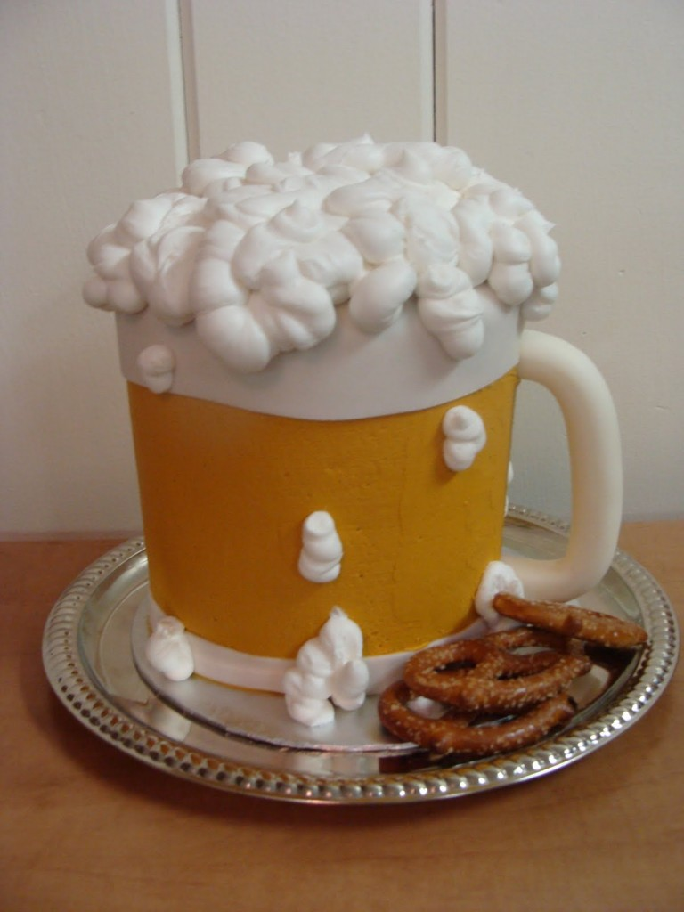 Beer Cake Design Ideas : Beer Mug Cakes   Decoration Ideas Little Birthday Cakes