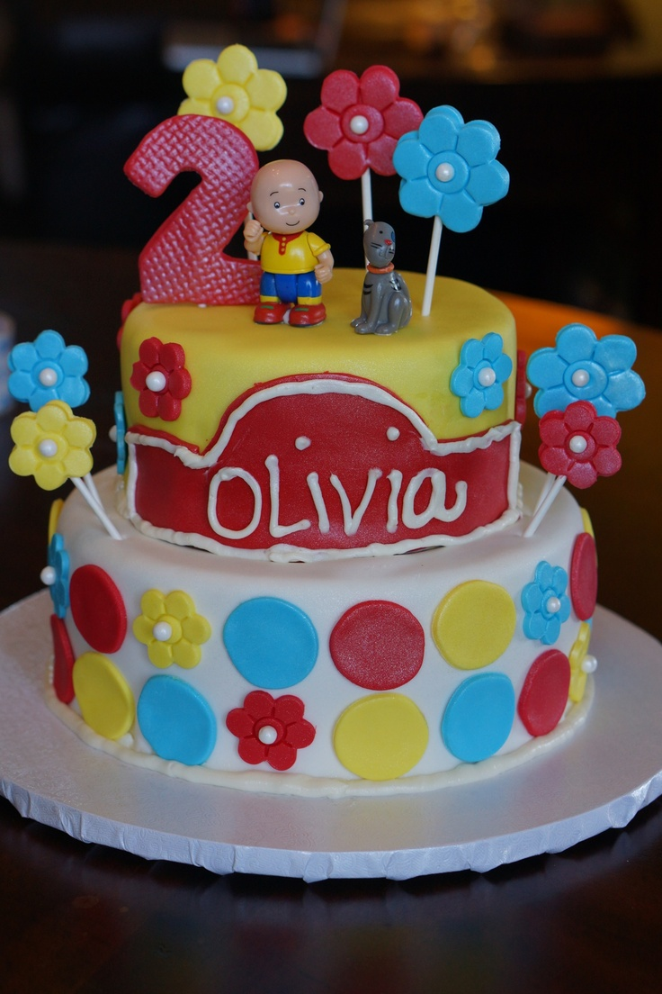 Birthday Cake Decoration Images : Caillou Birthday Cakes   Decoration Ideas Little ...