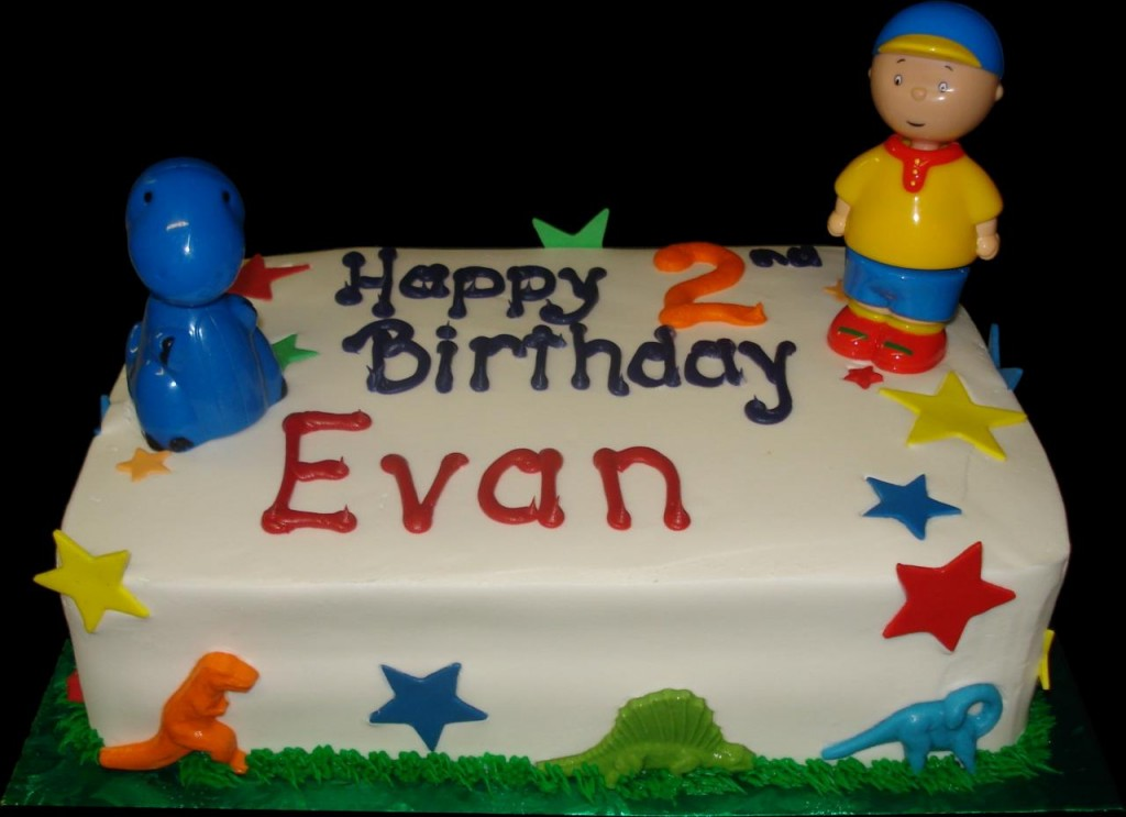 Caillou Cakes Pictures