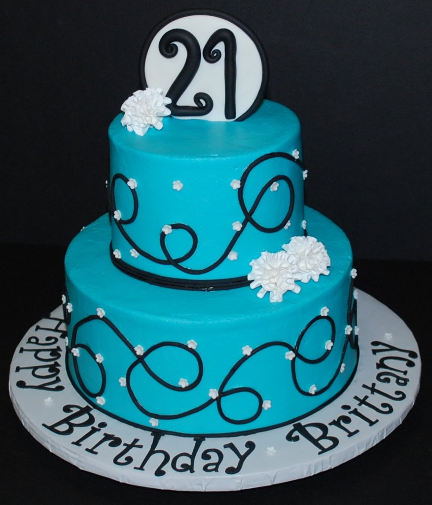 Cake Decoration For 21st Birthday : 21st Birthday Cakes   Decoration Ideas Little Birthday Cakes
