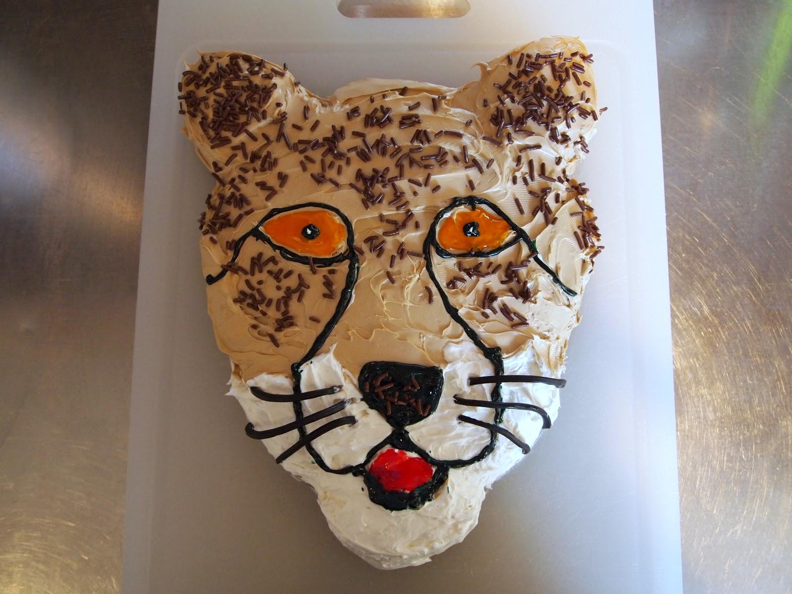 Cheetah Cakes Decoration Ideas Little Birthday Cakes