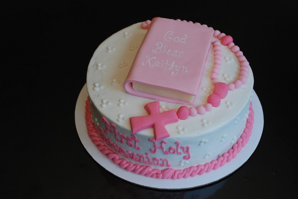 First Communion Cakes Decoration Ideas Little Birthday
