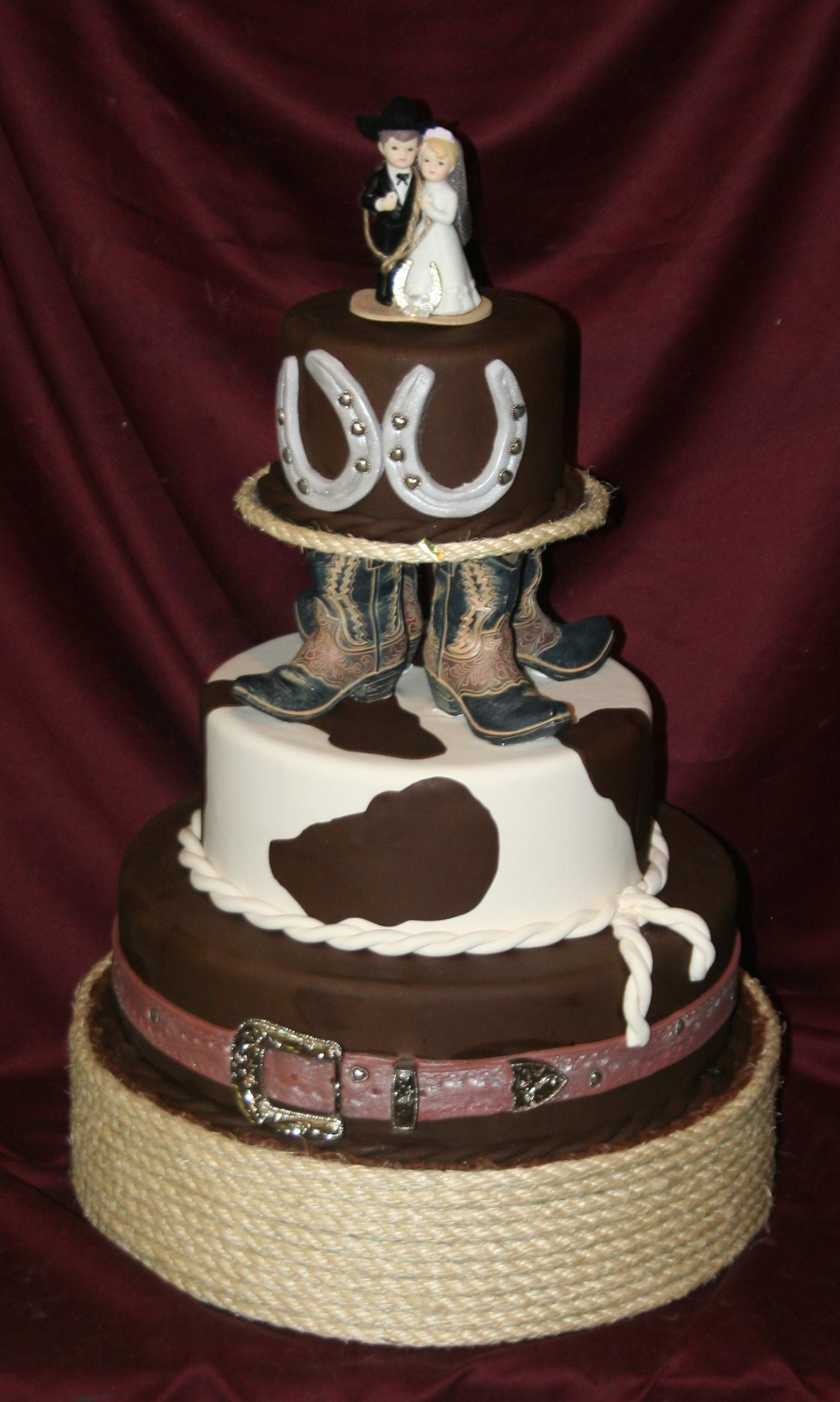 Cowboy Cakes Decoration Ideas