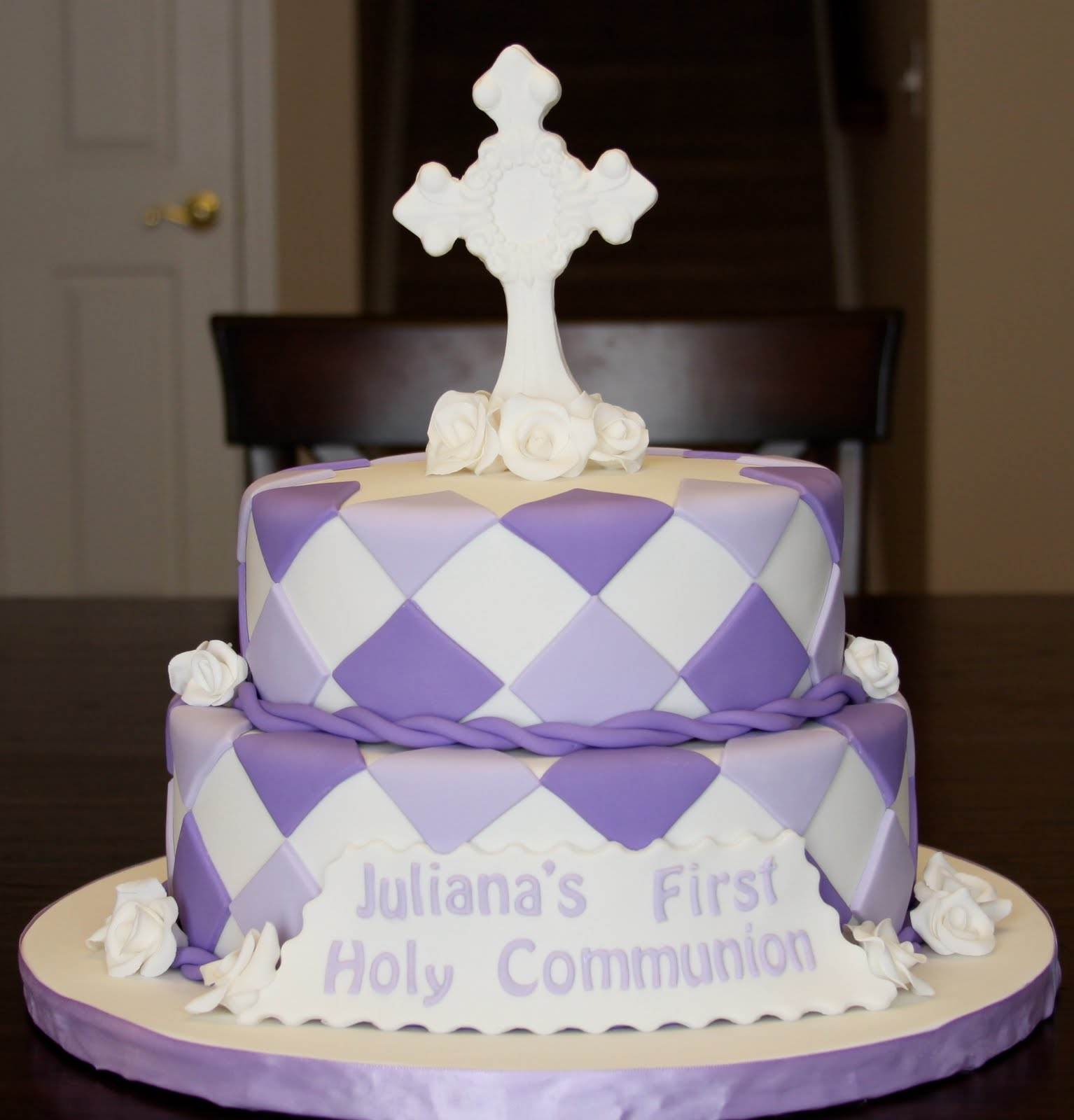 First Communion Cakes Decoration Ideas Little Birthday