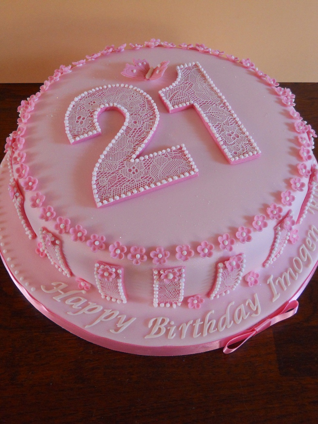 Images Of 21st Birthday Cakes