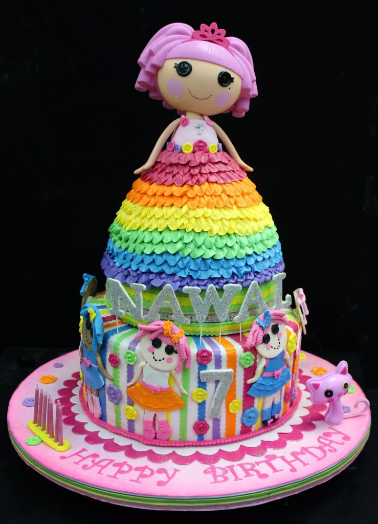 Lalaloopsy Dolls Birthday Cakes