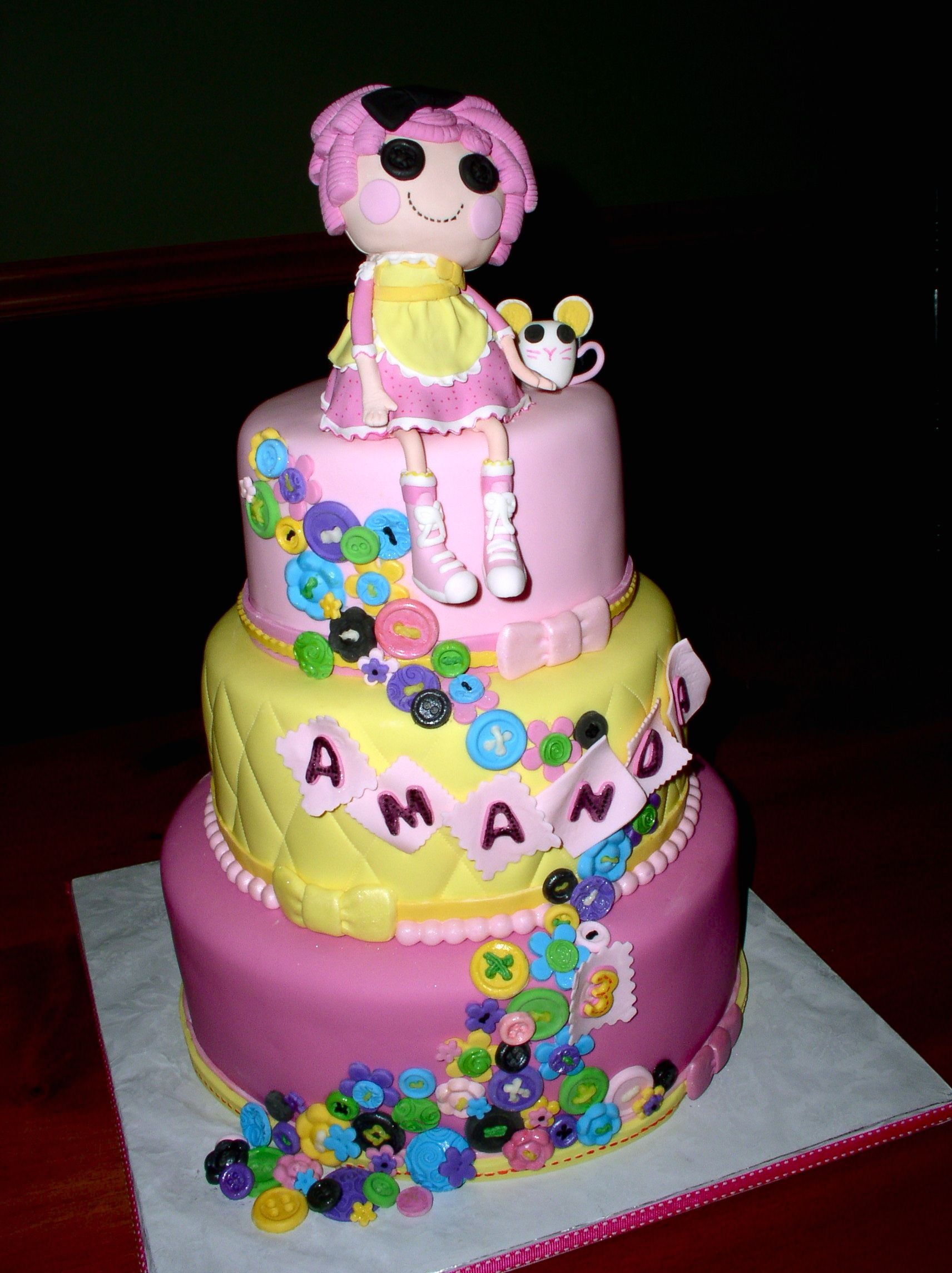 lalaloopsy cakes � decoration ideas little birthday cakes