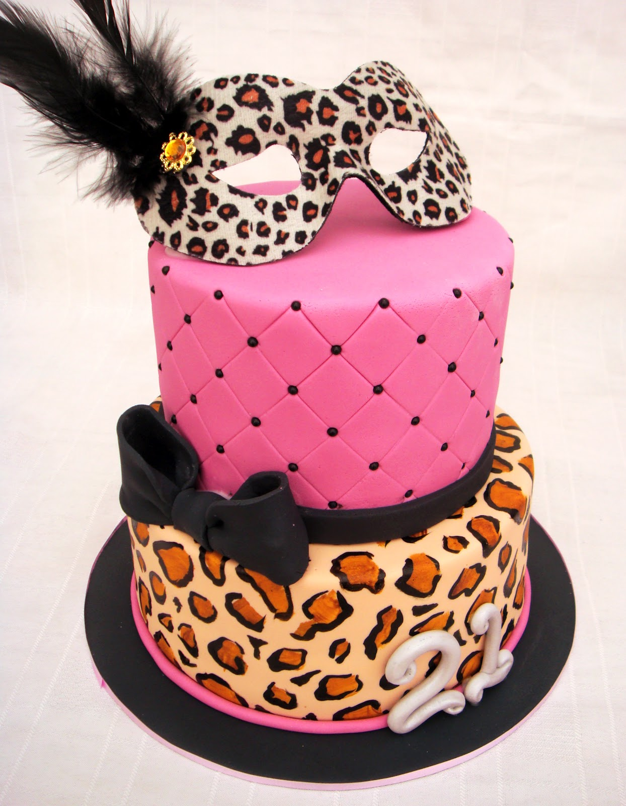 Cake Images Print : Leopard Print Cakes   Decoration Ideas Little Birthday Cakes