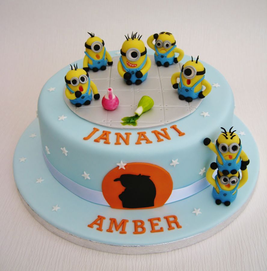 Images Of Minion Birthday Cake : Minion Cakes   Decoration Ideas Little Birthday Cakes