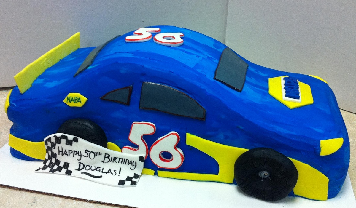 Nascar Cakes Decoration Ideas Little Birthday Cakes