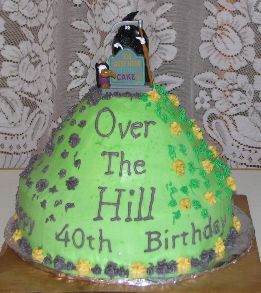 Over The Hill Birthday Cake Ideas