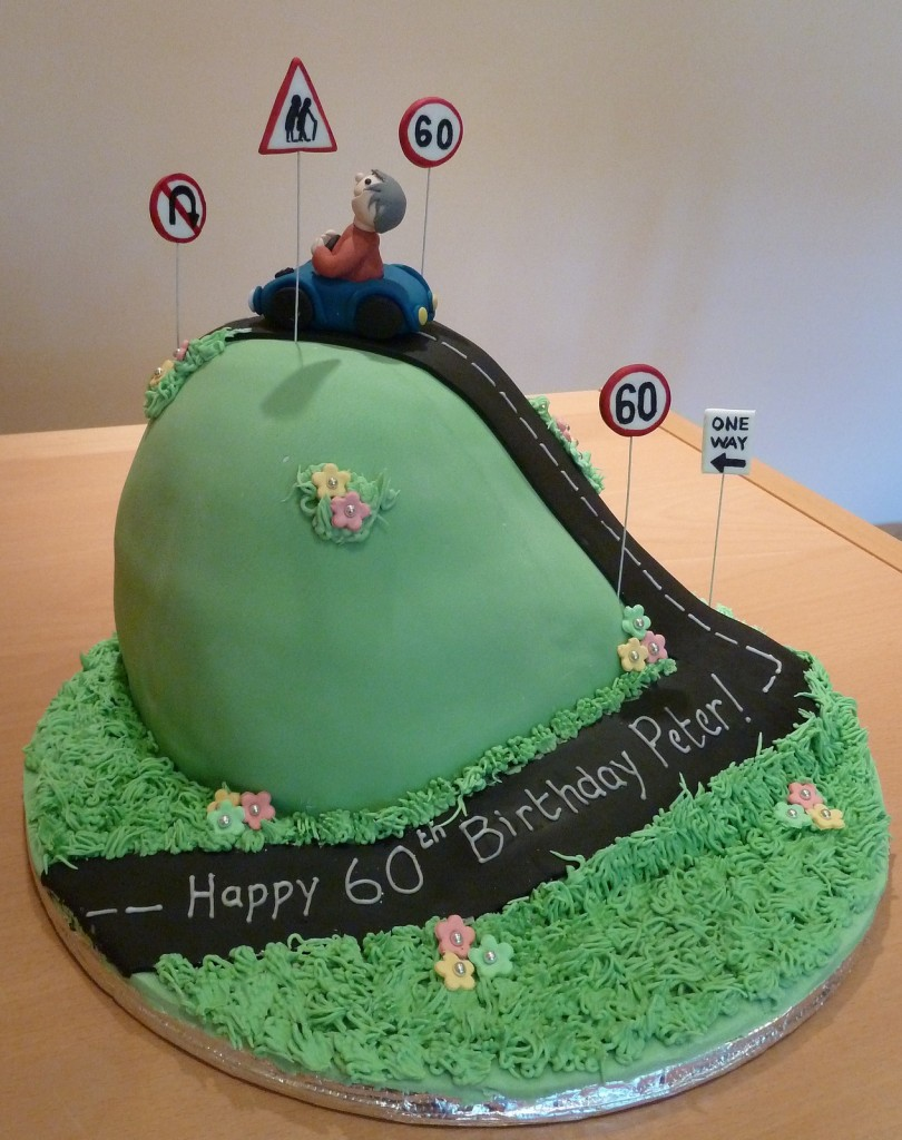 Over The Hill Cake Designs