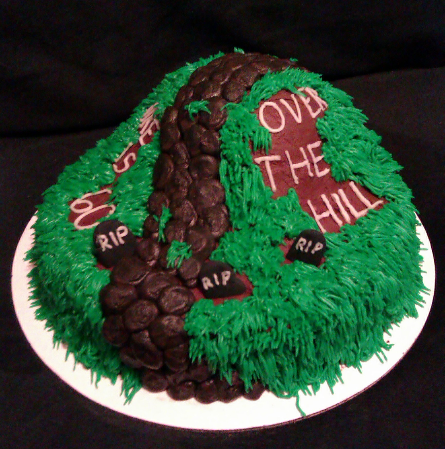 Over 50 Birthday Cake Ideas 50091 Over The Hill Cakes Deco