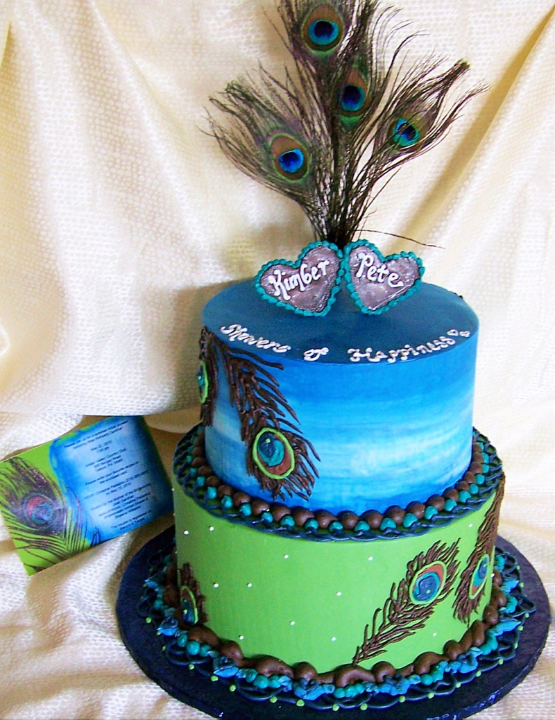 Peacock Cakes Decoration Ideas