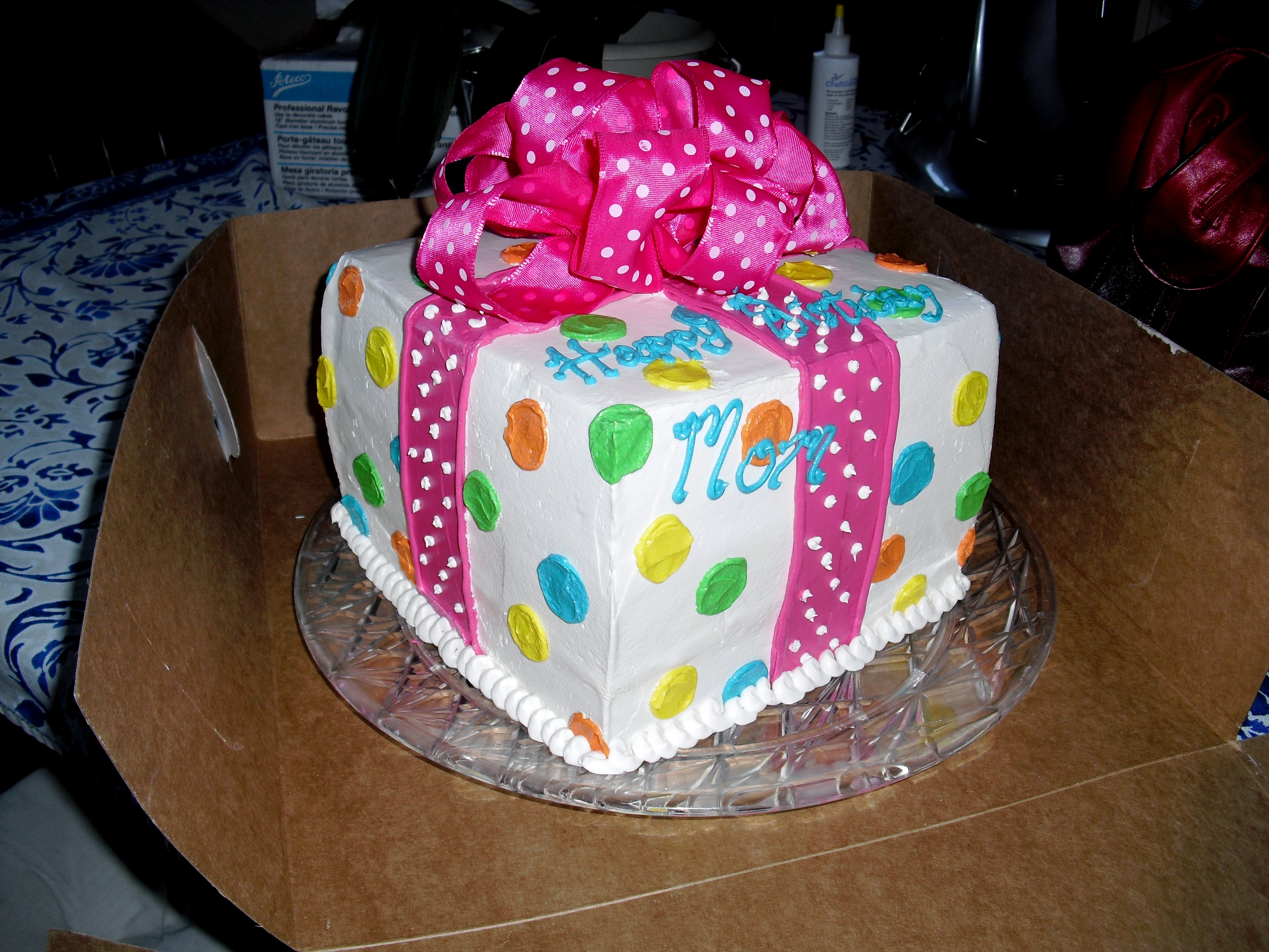 Cake Designs With Polka Dots : Polka Dot Cakes   Decoration Ideas Little Birthday Cakes