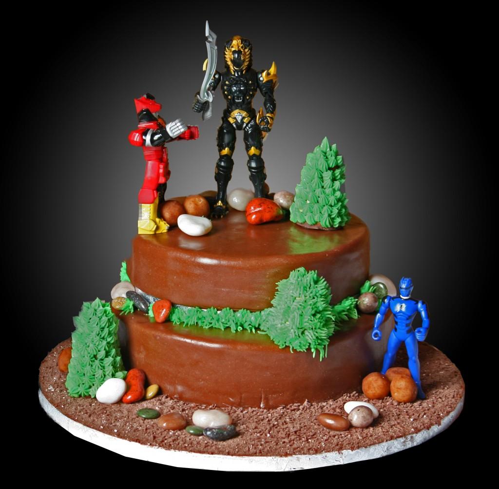 Power Ranger Cake Decorations