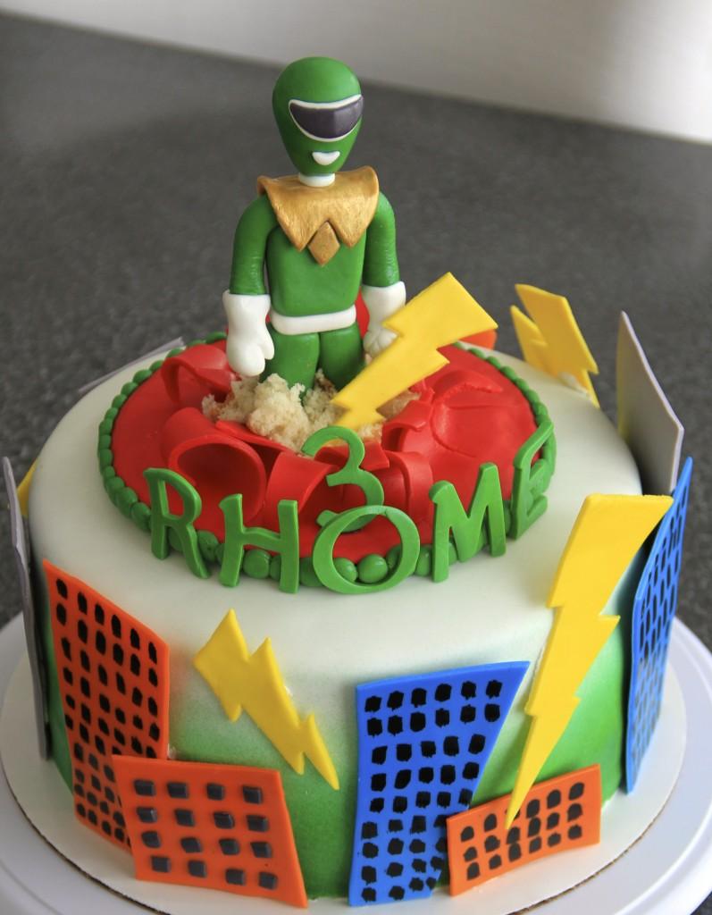 Power Ranger Cake Ideas