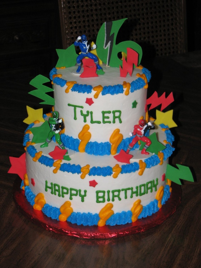 Power Ranger Cakes Decoration Ideas Little Birthday Cakes