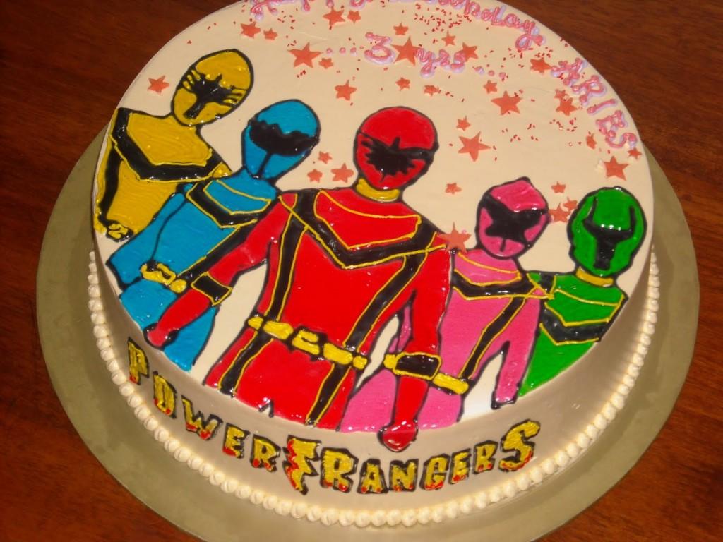 Power Rangers Birthday Cakes