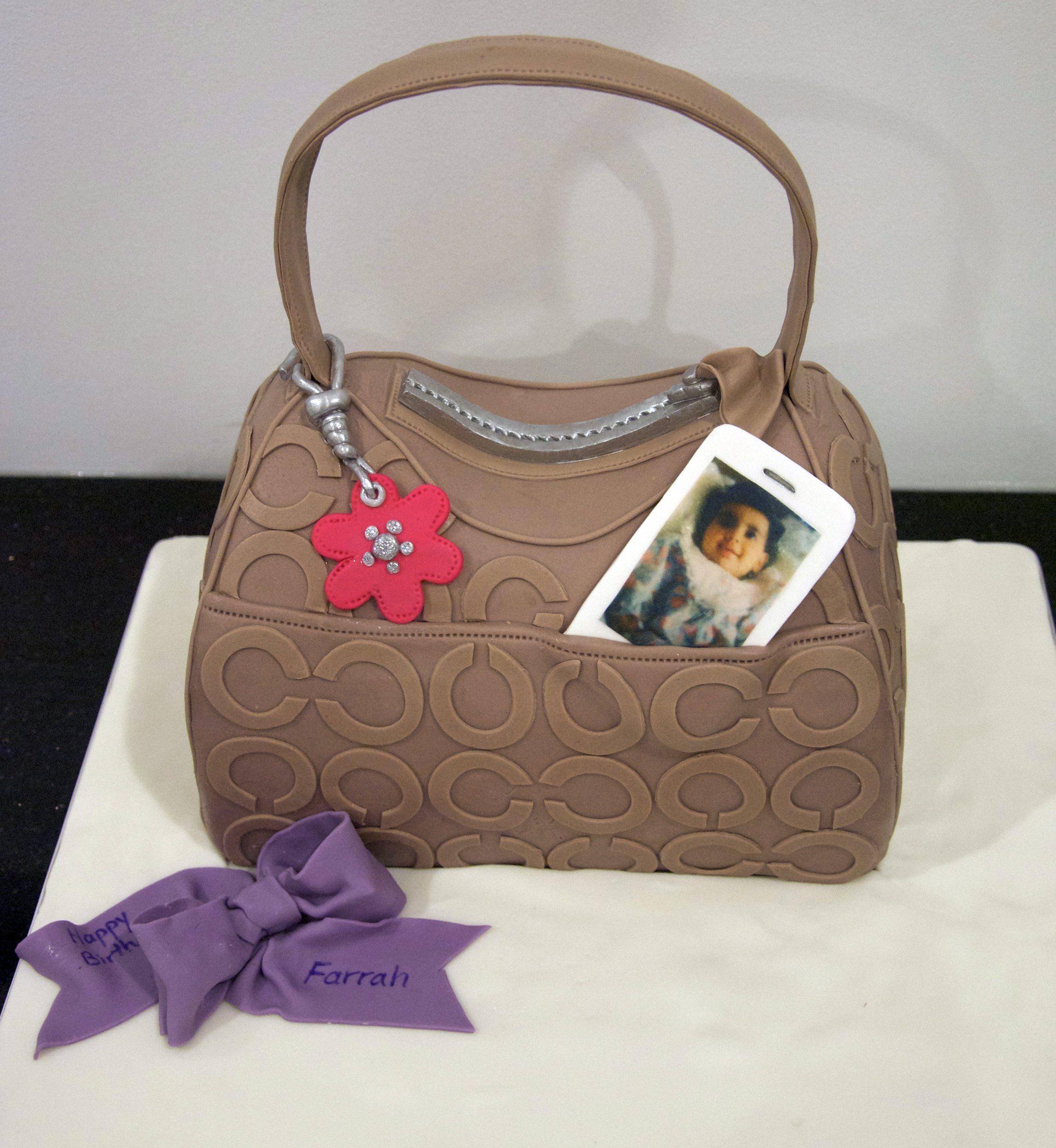 Handbag Birthday Cake Ideas