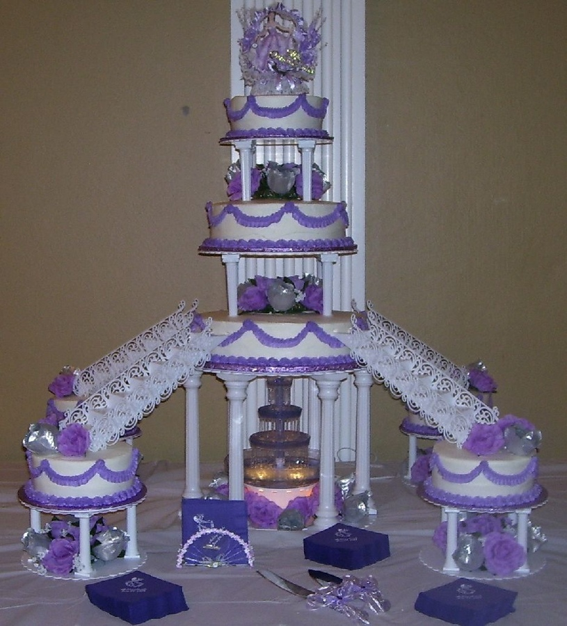 Cake Decorating Ideas For Quinceanera : Quinceanera Cakes   Decoration Ideas Little Birthday Cakes