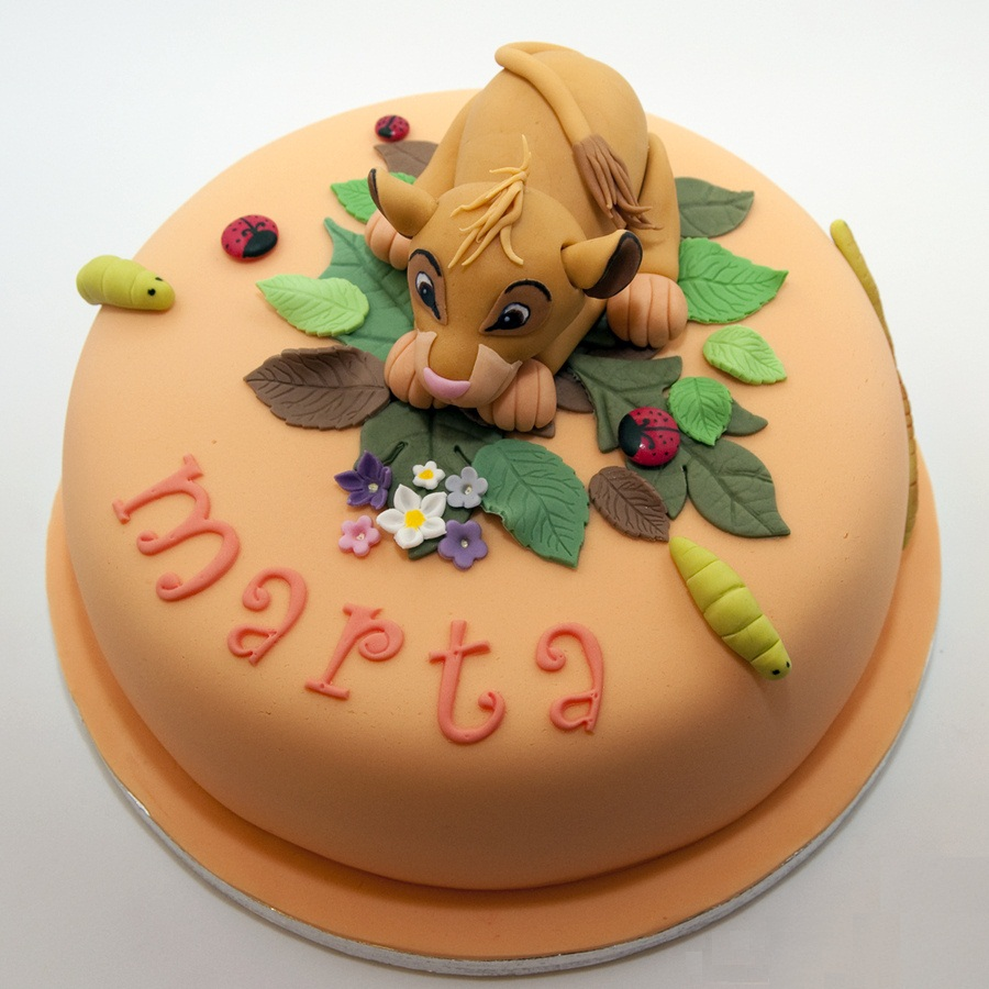 Lion King Cake Decoration Ideas : Simba Cakes   Decoration Ideas Little Birthday Cakes