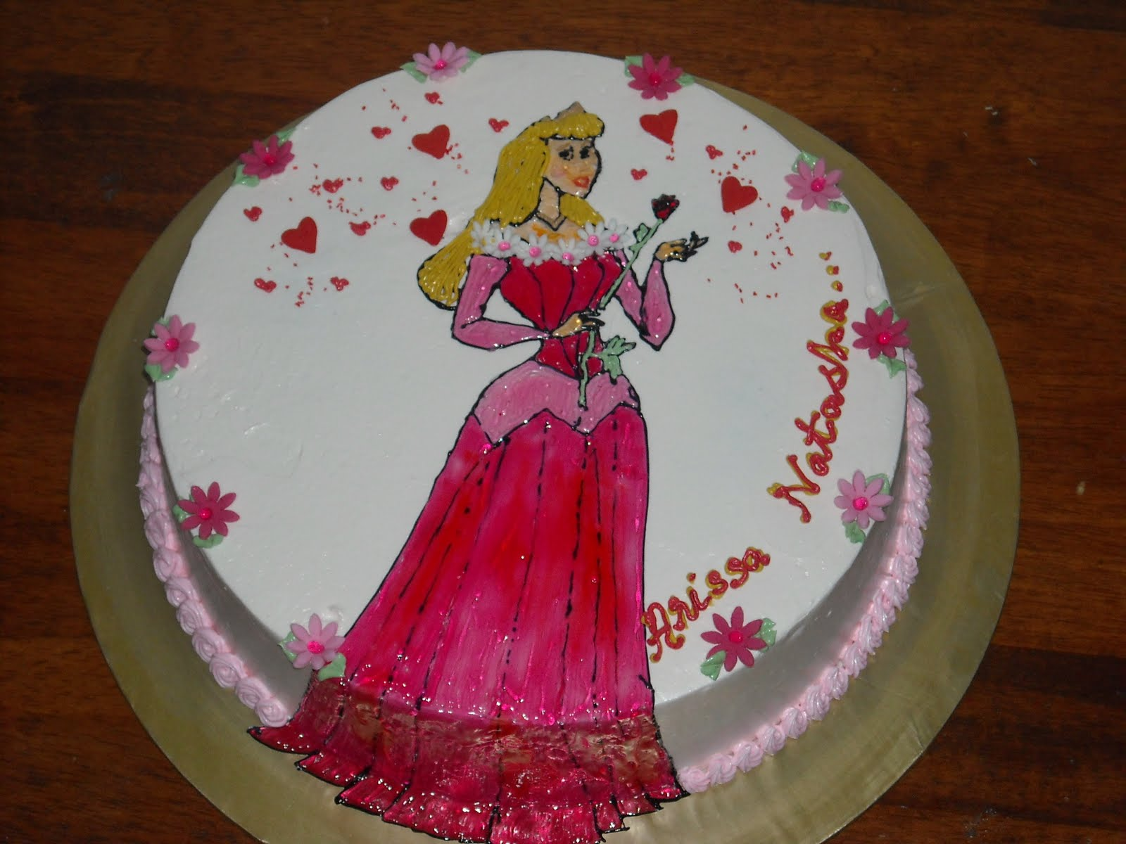 Sleeping Beauty Cakes Decoration Ideas Little Birthday Cakes