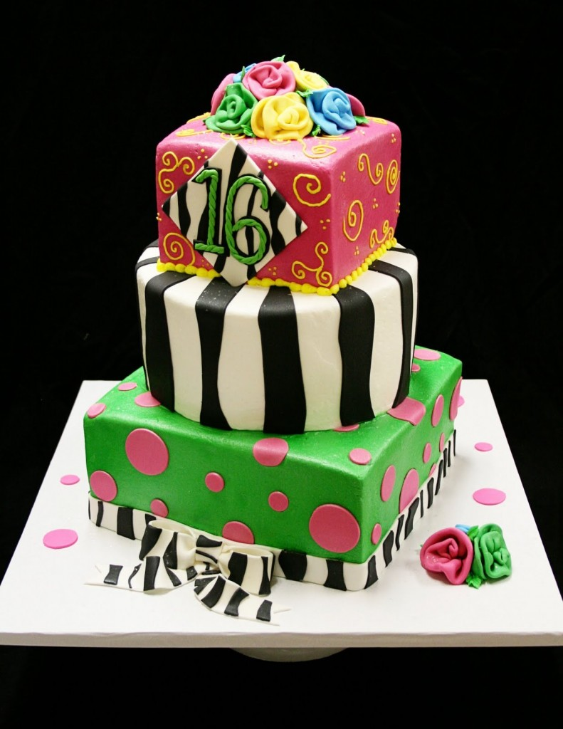 Cake Decorating Ideas For Sweet 16 : Sweet 16 Cakes   Decoration Ideas Little Birthday Cakes