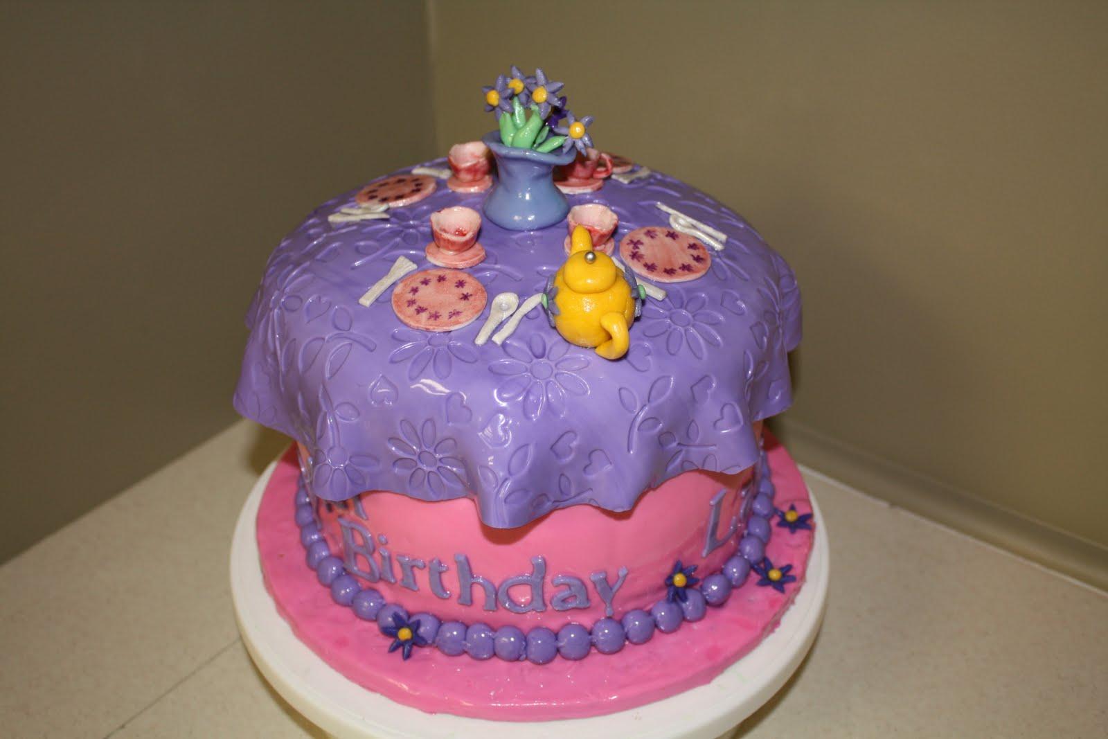 Tea party cakes decoration ideas little birthday cakes - Birthday cake decorations ideas ...
