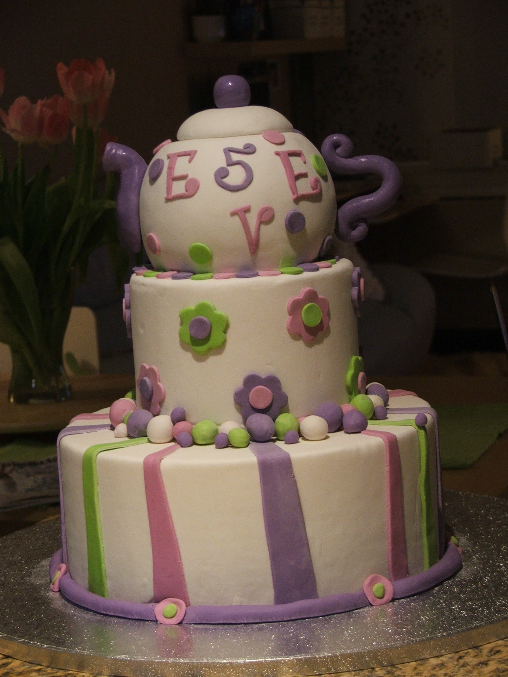 Tea Party Cake Images : Tea Party Cakes   Decoration Ideas Little Birthday Cakes