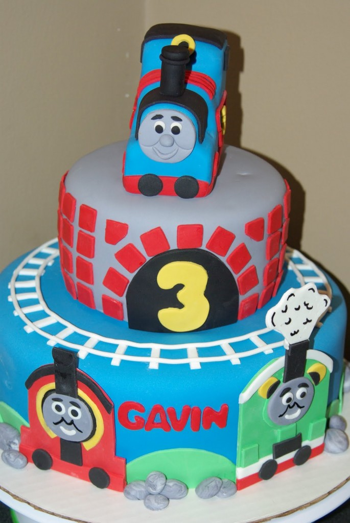 Thomas The Train Birthday Cakes