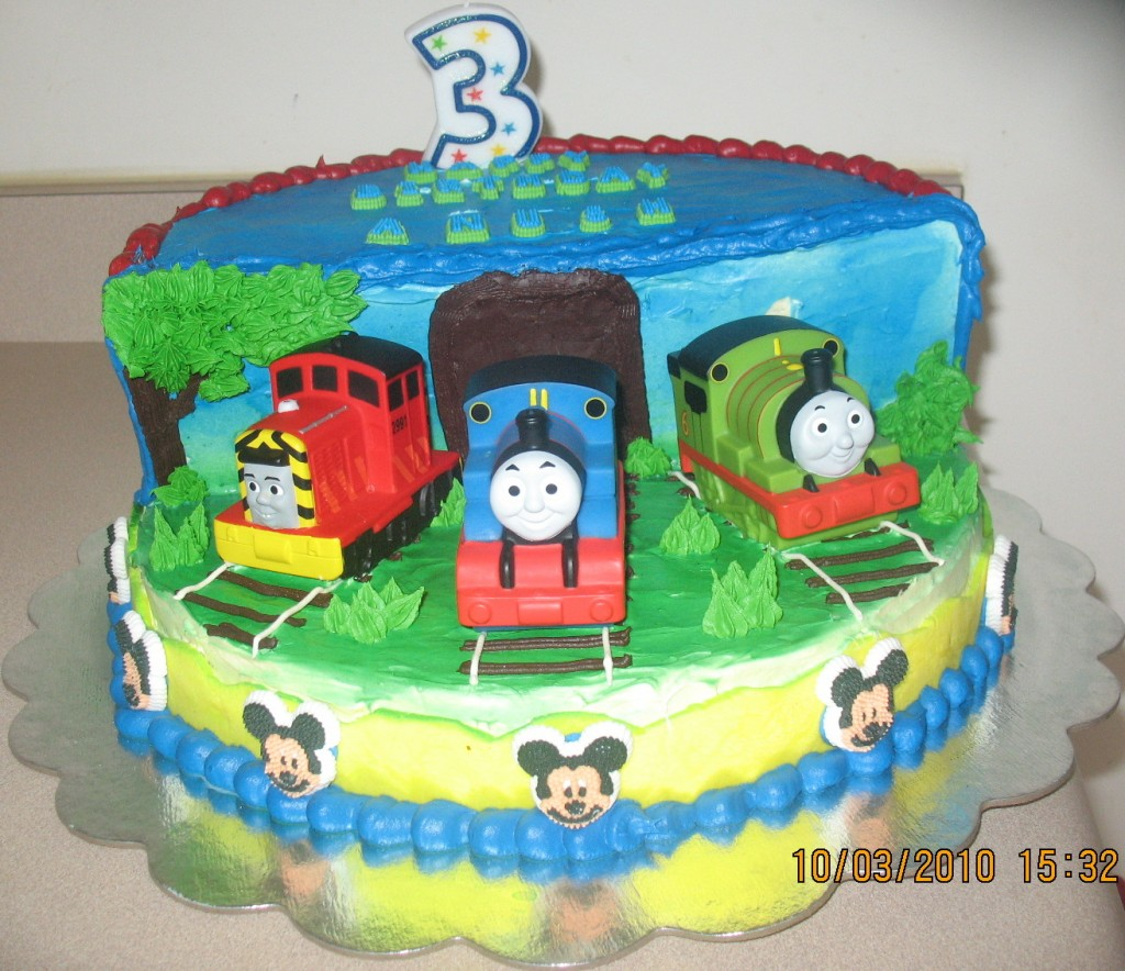 Thomas And Friends Birthday Cake Decorations